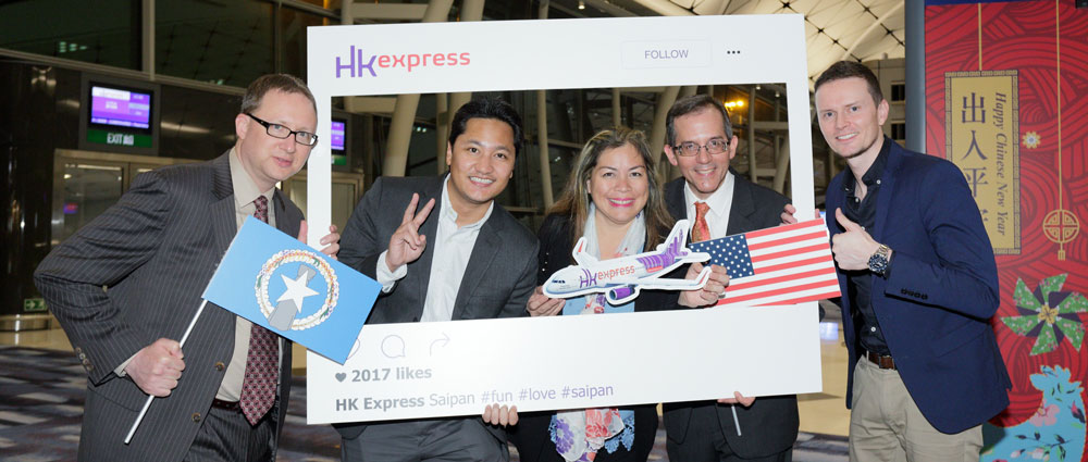 HK Express_Saipan Route Launch